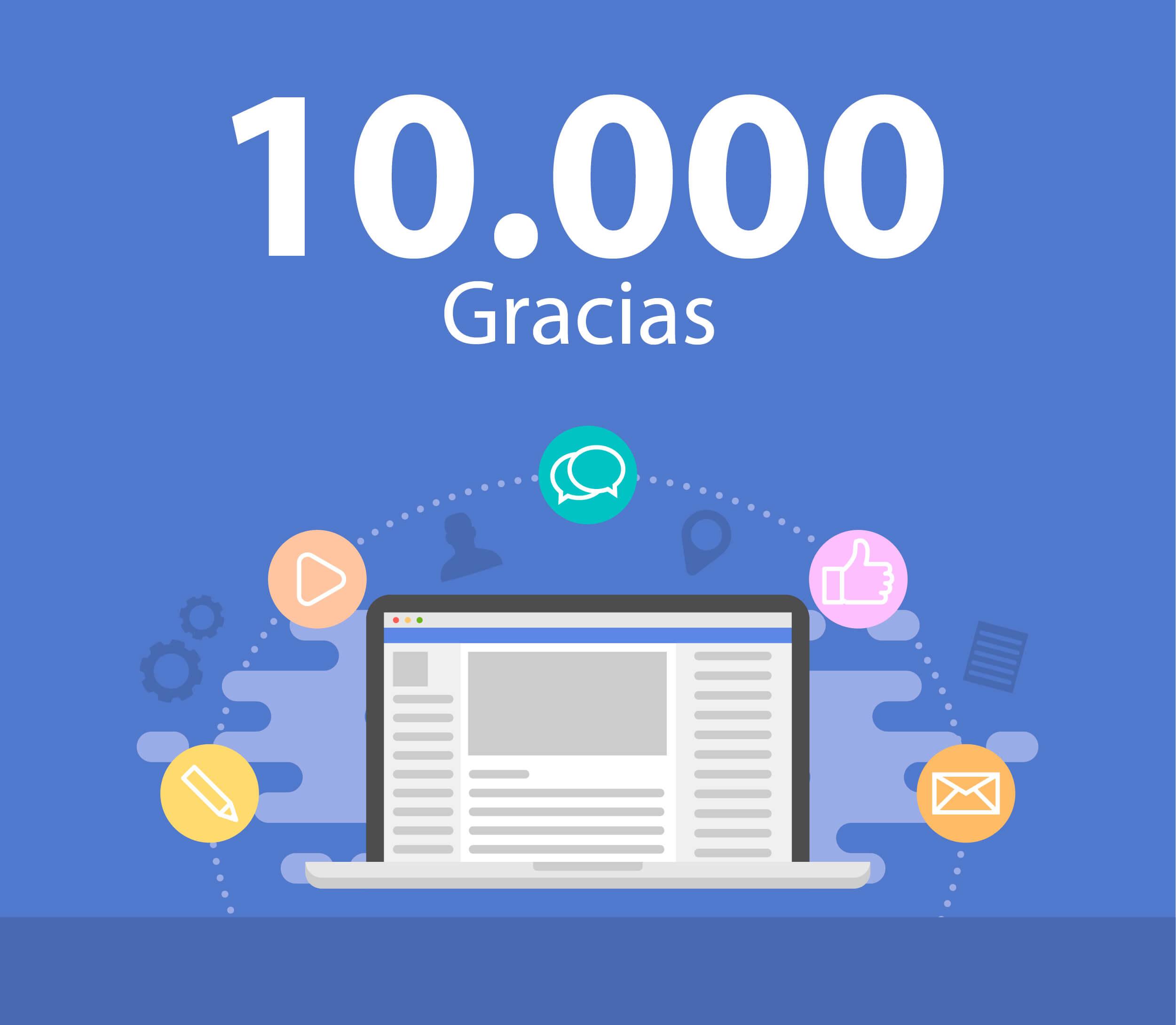 Mediante sitúa en 10.000 fans el facebook de su portal de información local